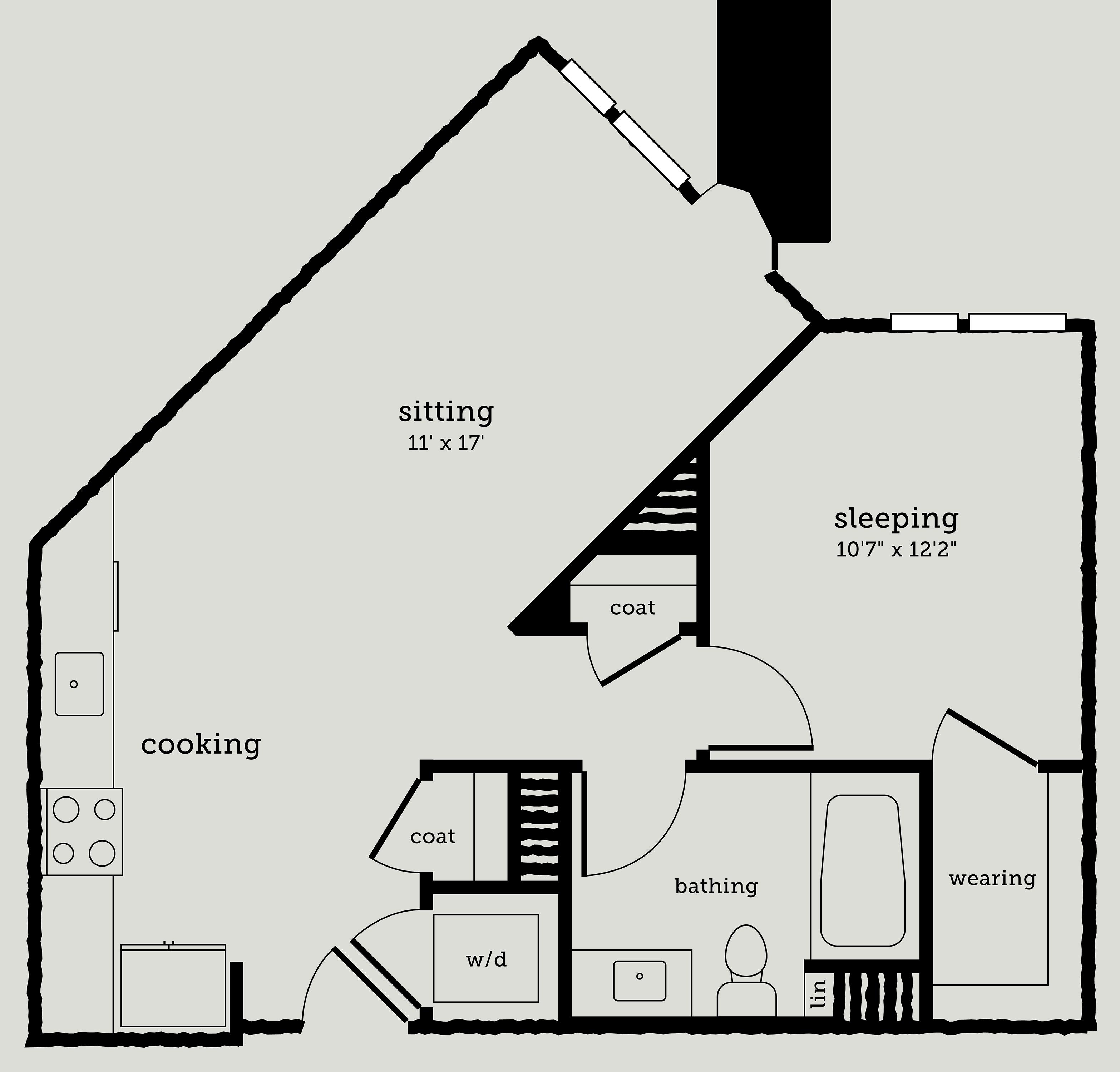 Alexan Webster One Bedroom Floor Plan A5