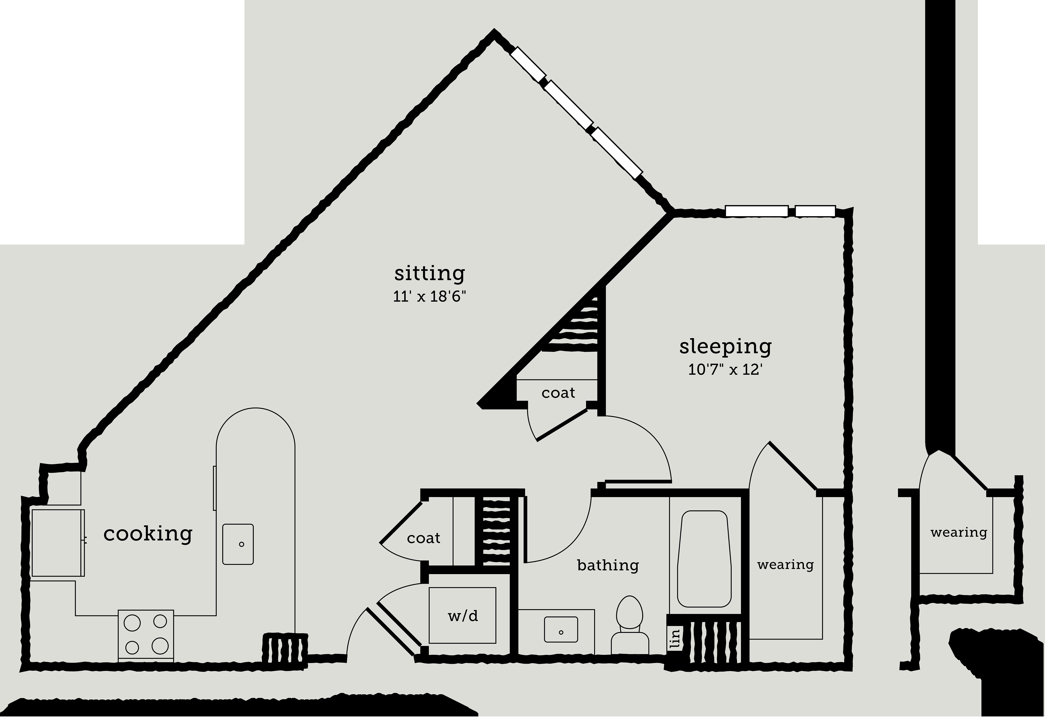 Alexan Webster One Bedroom Floor Plan A6