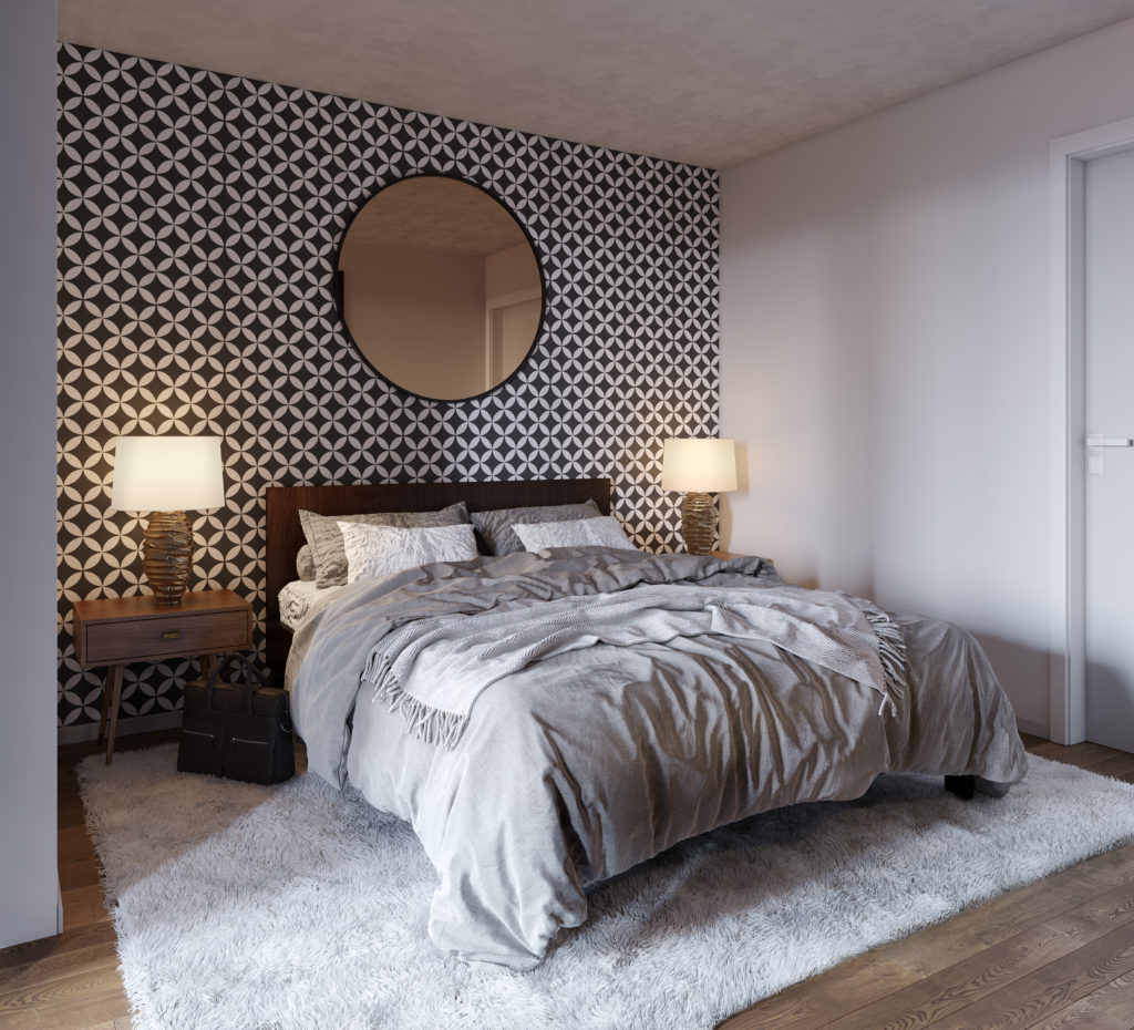 I Need Help Finding A Apartment: Alexan Webster Rendering Bedroom
