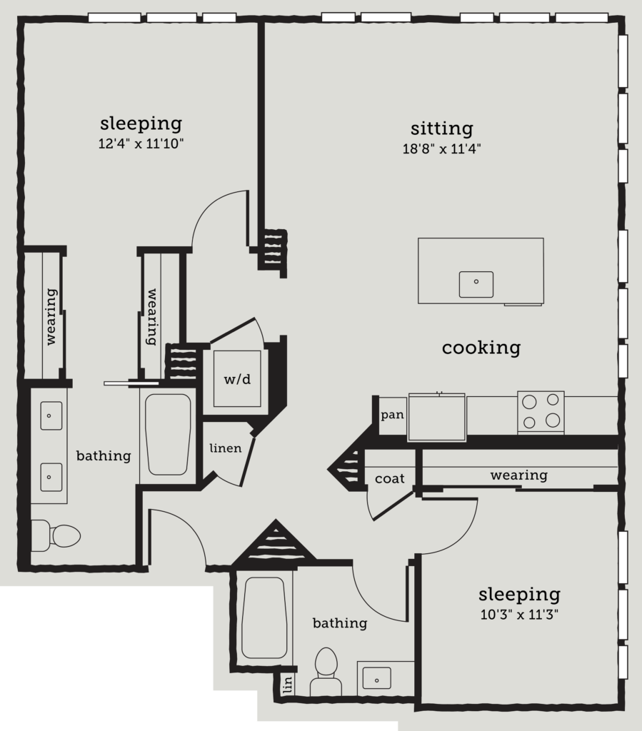 Two Bedroom Oakland Apartments