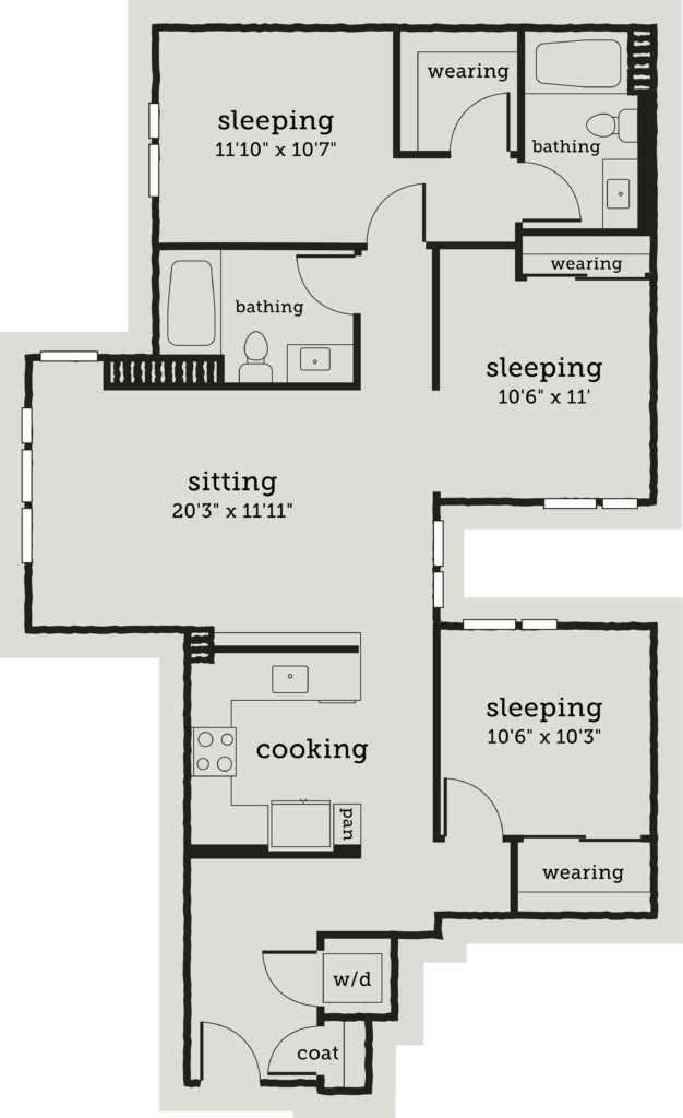 Oakland two bedroom apartments