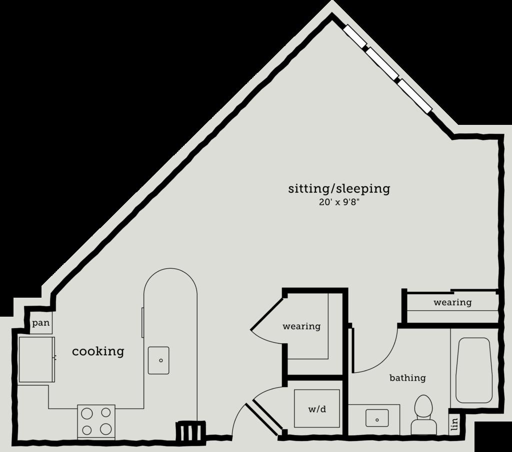Studio Apartments For Rent Oakland Ca: S3: Stupendous Oakland Studio Apartments